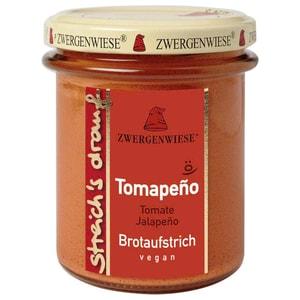 Zwergenwiese Bio Brotaufstrich Streichs drauf Tomapeno Tomate - Jalapeno 160g