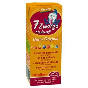 Voelkel Bio 7-Zwerge-Kindersaft demeter 3x0,2l