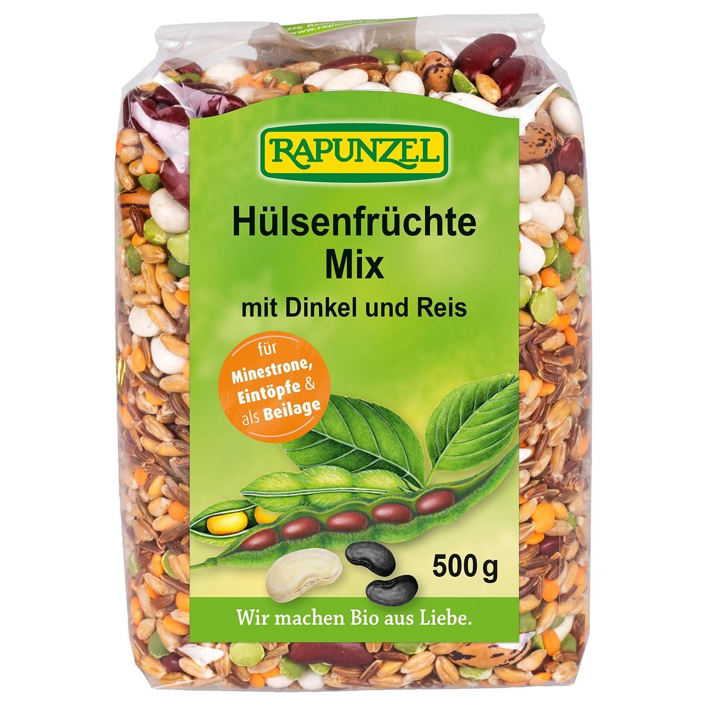 Rapunzel Bio Hülsenfrüchte Mix mit Dinkel und Reis 500g