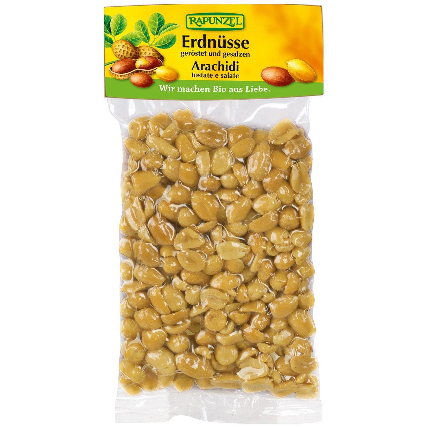 Rapunzel Bio Erdnüsse geröstet & gesalzen 125g