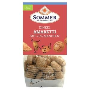 Sommer Bio Dinkel Amaretti mit Mandeln 100g