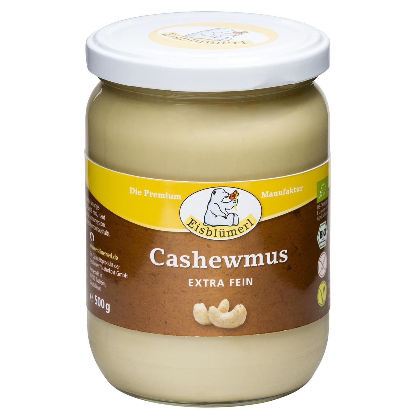 Eisblümerl Bio Cashewmus extra fein 500g