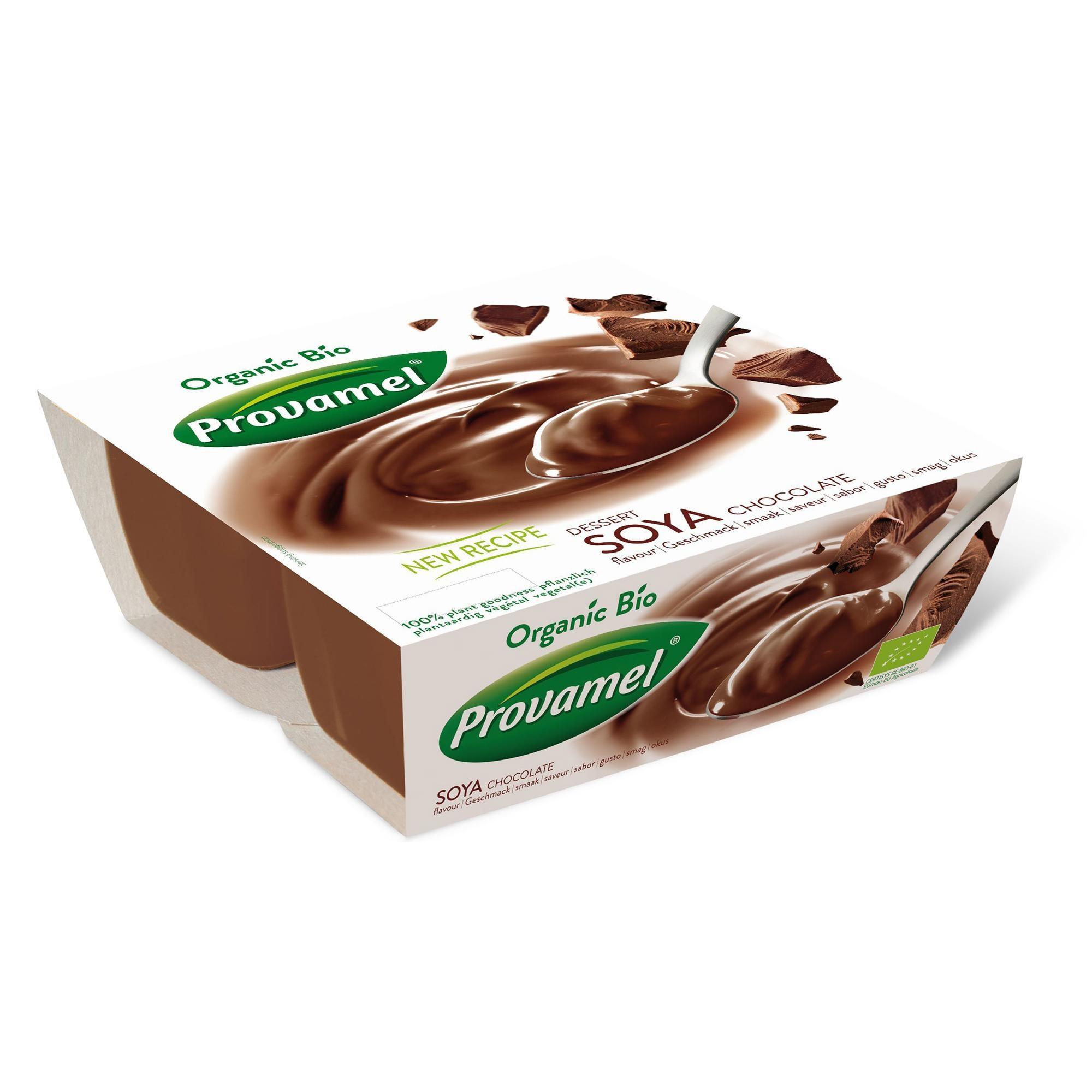 Provamel Bio Sojadessert Schokolade 4x125g