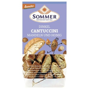 Sommer Bio Dinkel Cantuccini 150g
