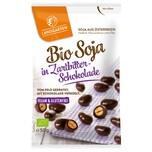 Landgarten Bio Soja in Zartbitter-Schokolade 50g