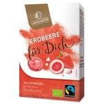Landgarten Bio Erdbeere in Beeren-Schokolade Erdbeere für Dich 90g