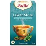 Yogi Tea Bio Lakritz Minze Teemischung 30,6g