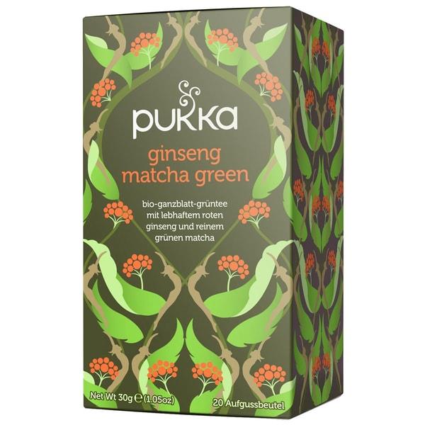 Pukka Herbs Bio Ginseng Matcha Green Teemischung 30g
