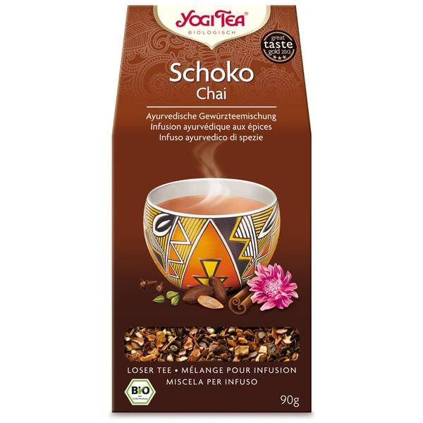 Yogi Tea Bio Schoko Chai lose Teemischung 90g