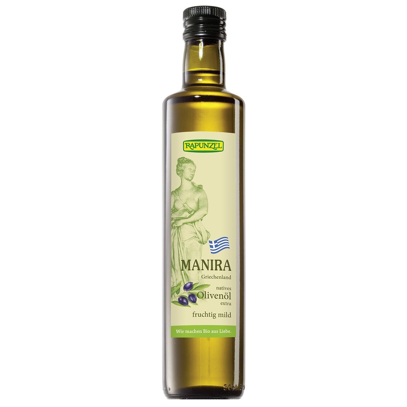 Rapunzel Bio Olivenöl Manira nativ extra 0,5l
