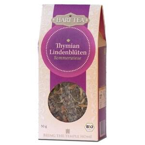 Hari Tea Bio Thymian & Lindenblüten lose Teemischung 50g