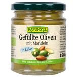 Rapunzel Bio Oliven grün gefüllt mit Mandeln in Lake 190g