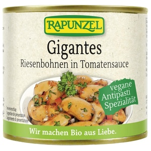 Rapunzel Bio Gigantes Riesenbohnen in Tomatensauce 230g