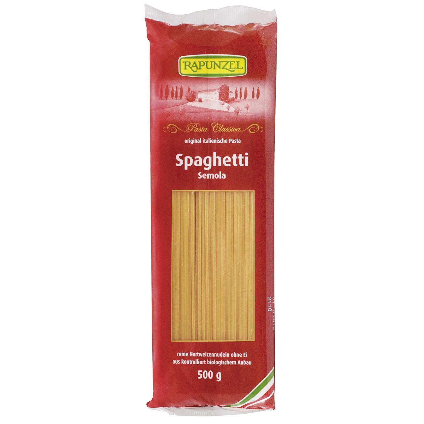Rapunzel Bio Spaghetti Semola 500g