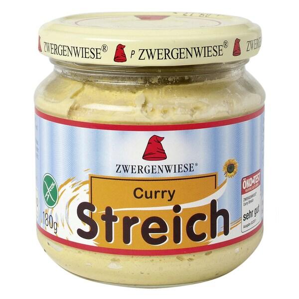 Zwergenwiese Curry Streich Aufstrich, Bio, 180 g