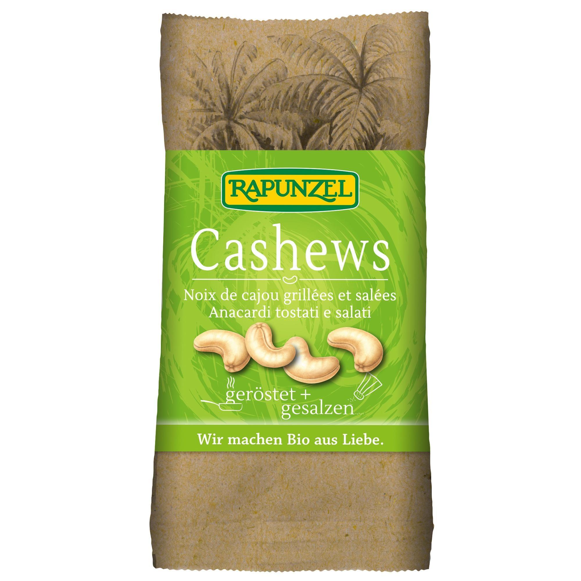 Rapunzel Bio Cashewkerne geröstet & gesalzen 50g