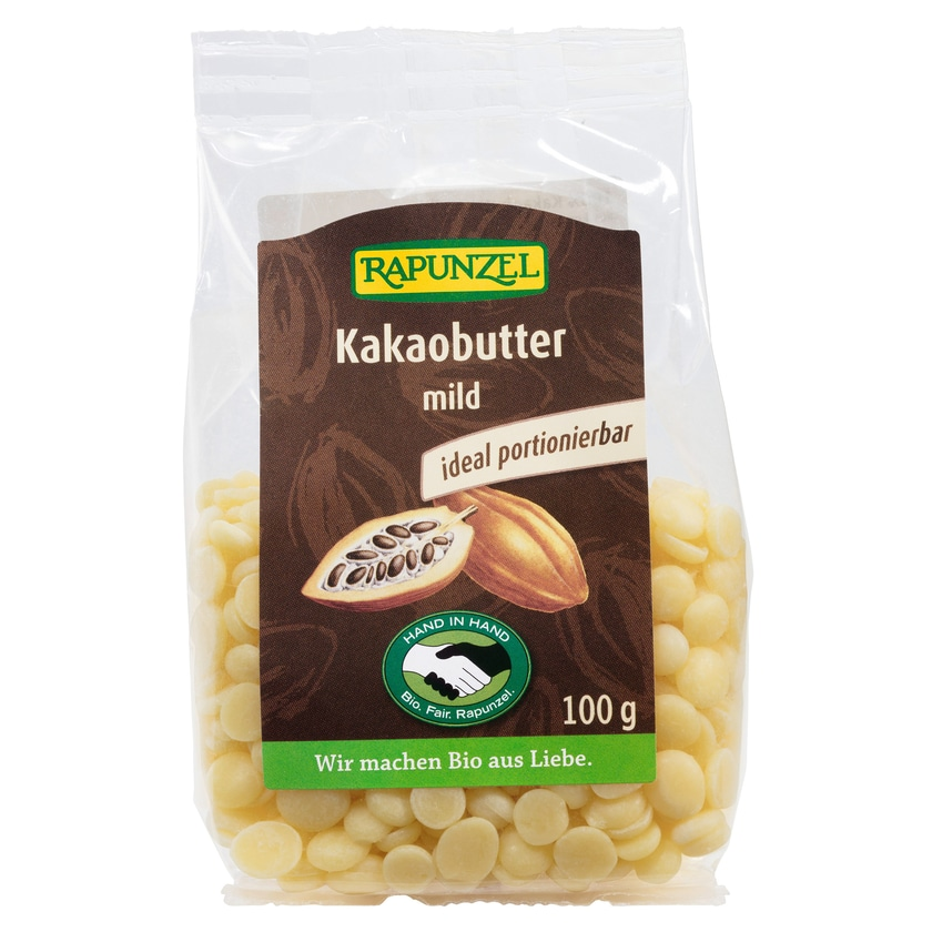 Rapunzel Bio Kakaobutter mild 100 g