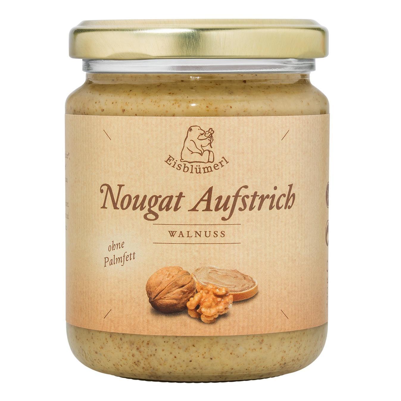 Eisblümerl Bio Walnuss Nougat Aufstrich 250 g