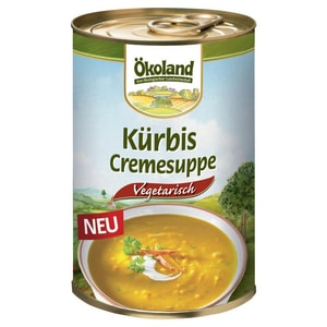 Ökoland Bio Kürbis Cremesuppe 400g