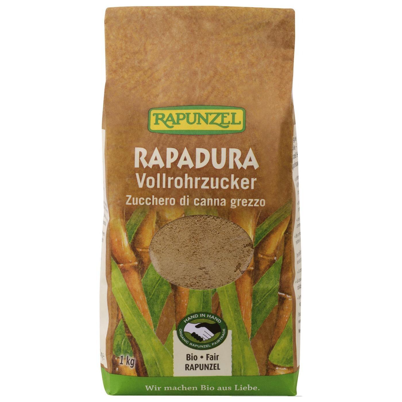 Rapunzel Bio Rapadura Vollrohrzucker 1 kg