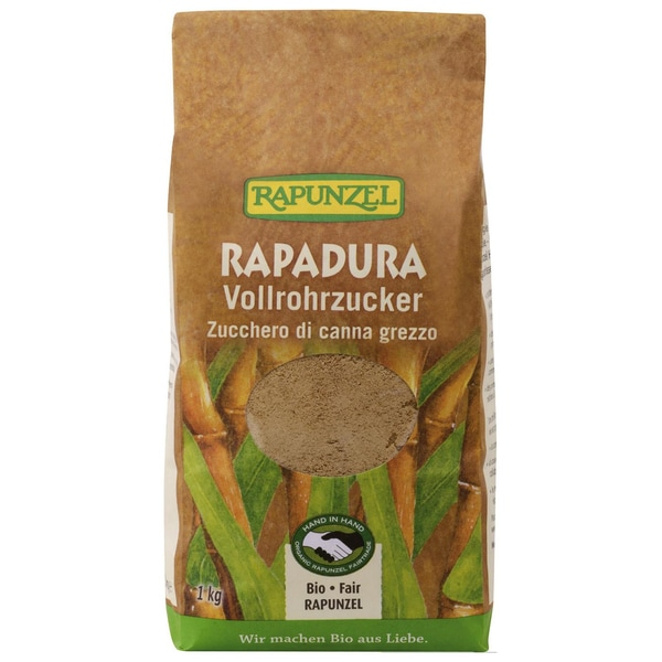 Rapunzel Bio Rapadura Vollrohrzucker 1kg
