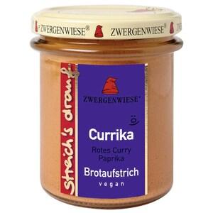Zwergenwiese Bio Brotaufstrich Streichs drauf Currika rotes Curry - Paprika 160g
