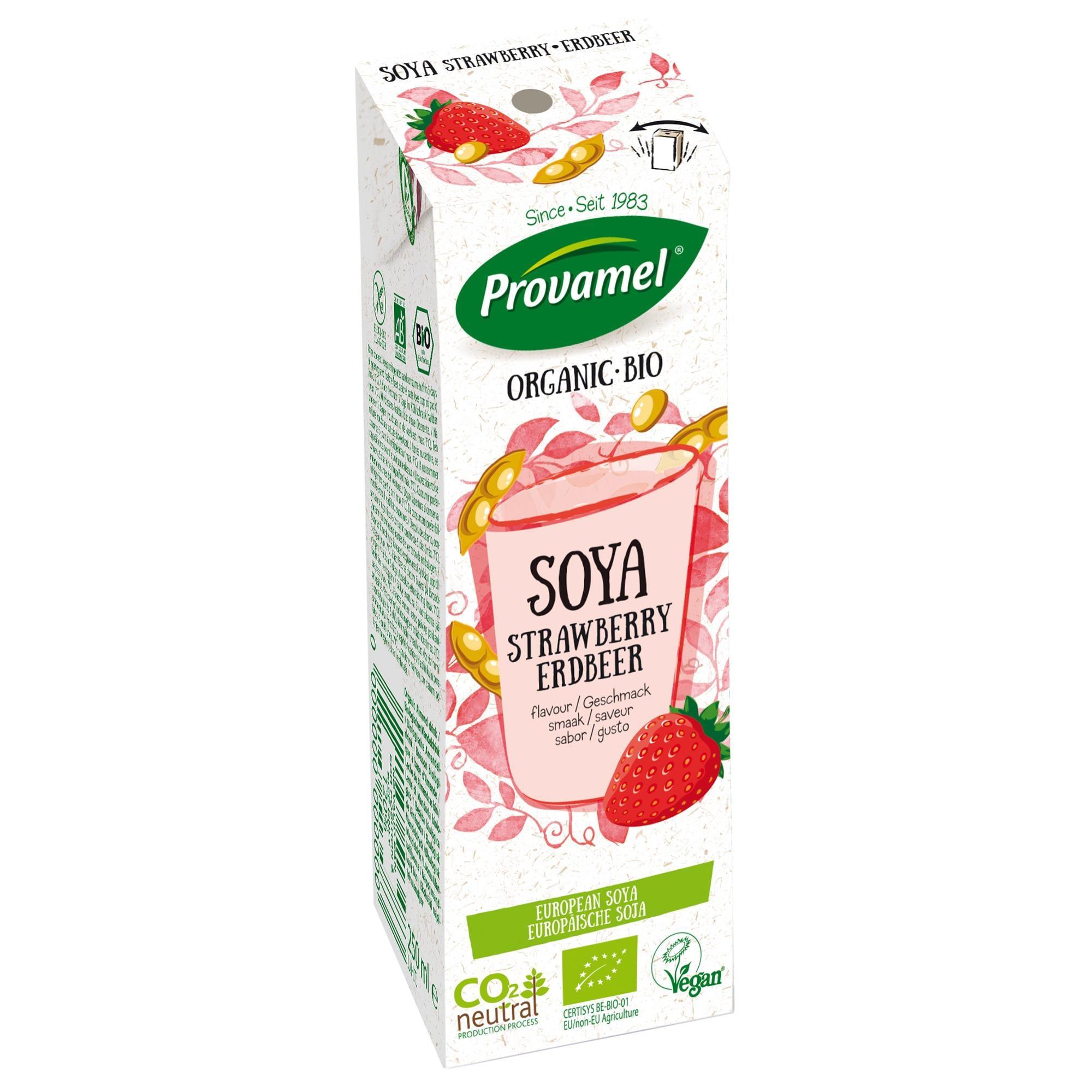Provamel Bio Sojadrink Erdbeer 250ml