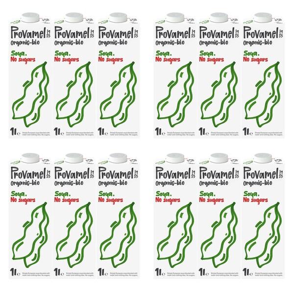 Provamel Bio Sojadrink Natural ungesüßt 12x1 l
