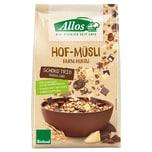 Allos Bio Hof-Müsli Schoko Trio 375g