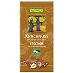 Rapunzel Bio Krachnuss Vollmilch Schokolade Haselnuss 100 g