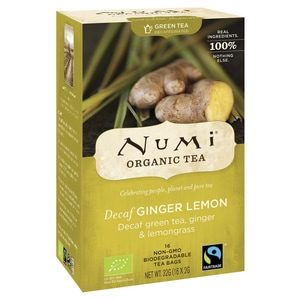 Numi Bio Decaf Ginger Lemon 32g