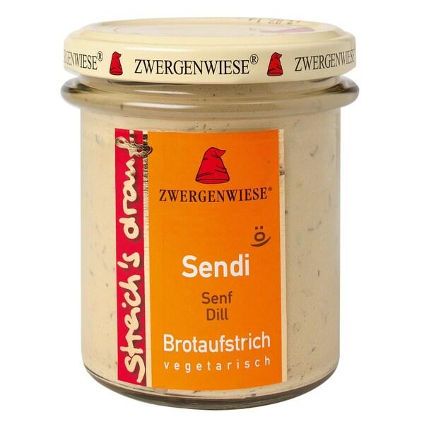 Zwergenwiese Bio Sendi streich's drauf Senf Dill 160g