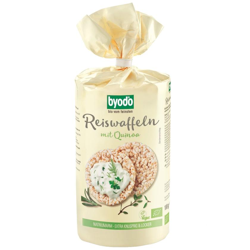 Byodo Bio Reiswaffeln mit Quinoa 100g