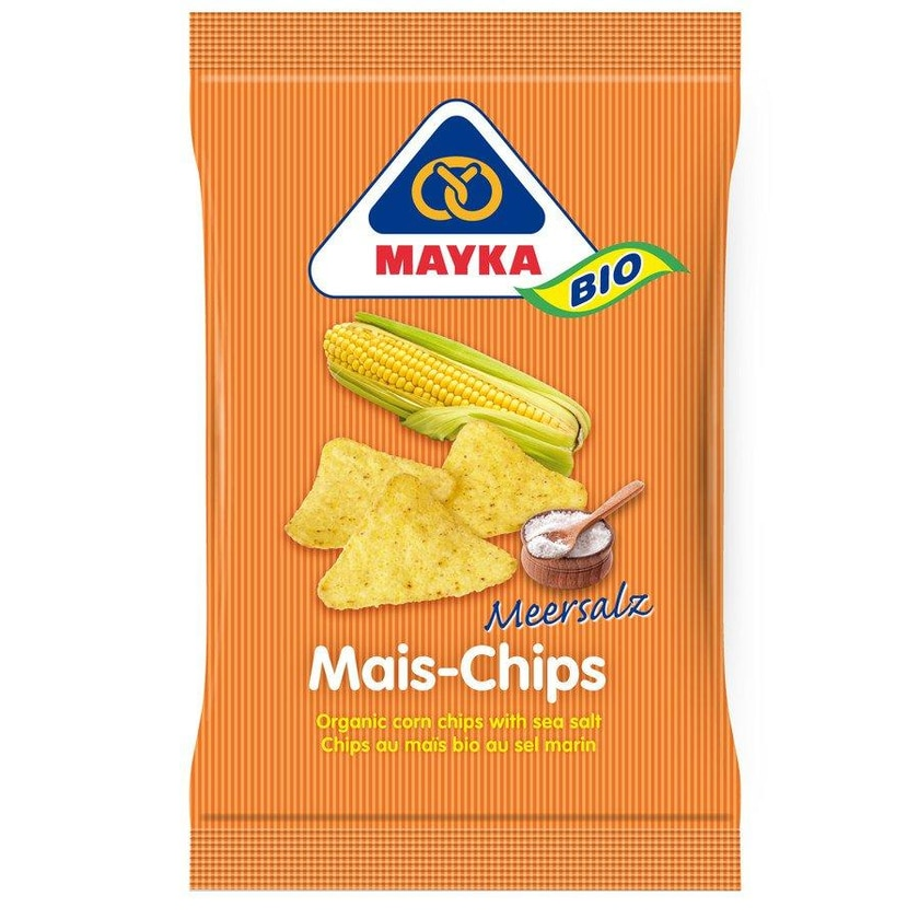 Mayka Bio Mais-Chips Natur 125g