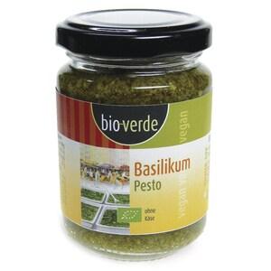 Bioverde Bio Basilikum Pesto 125ml