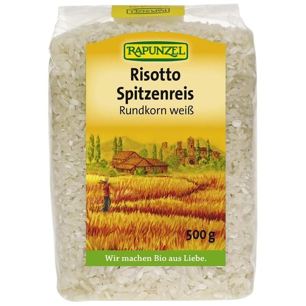 Rapunzel Bio Risotto Rundkorn Spitzenreis Ribe weiß 500g