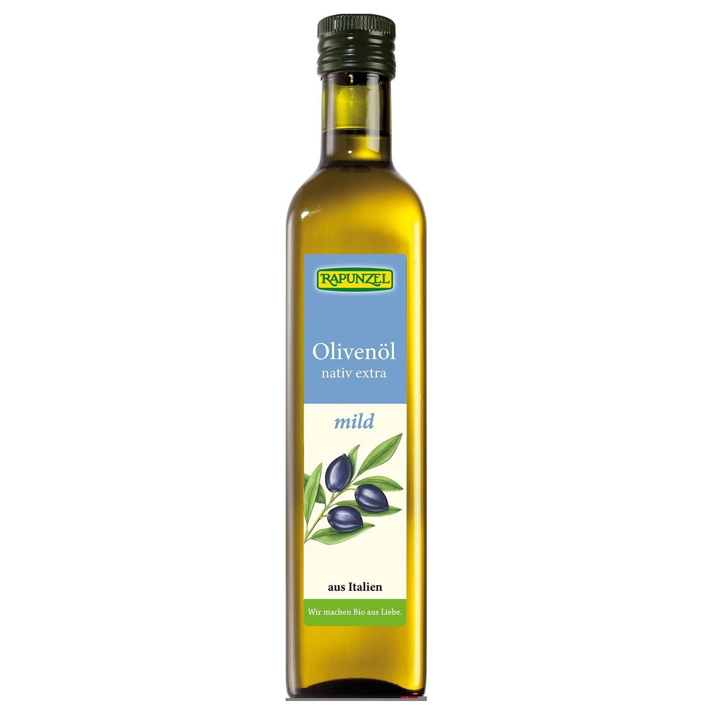 Rapunzel Bio Olivenöl mild nativ extra 0,5l