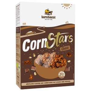 Barnhouse Bio Cornflakes Cornstars Choco 250g