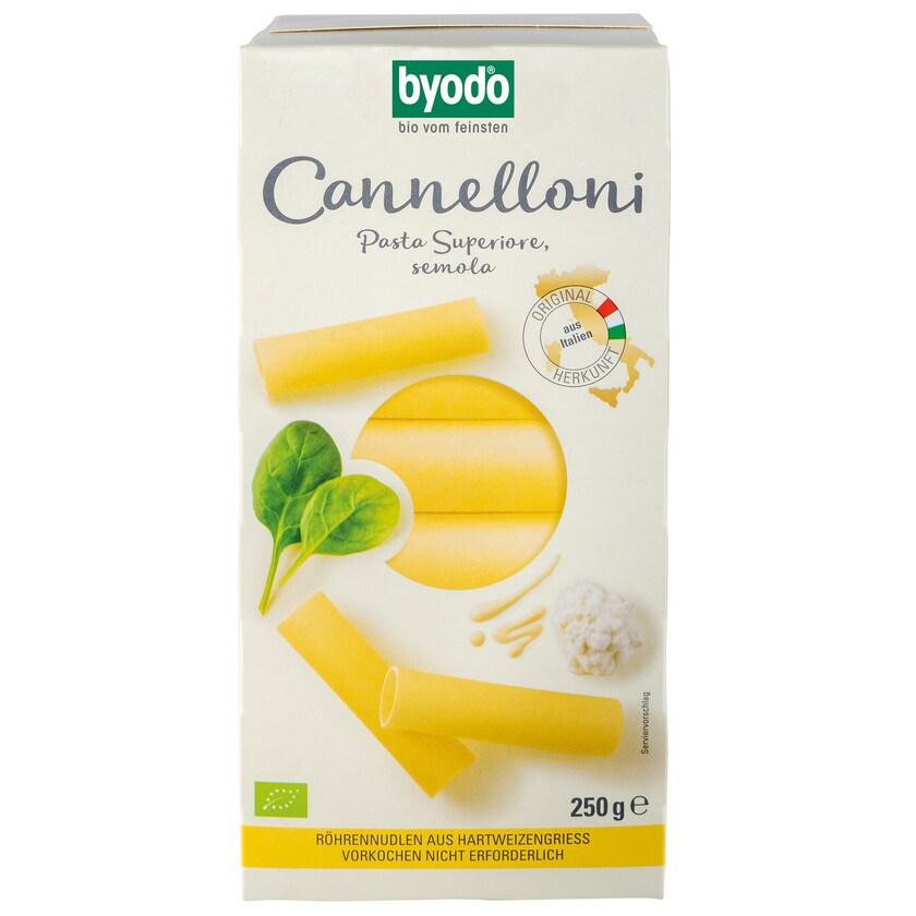 Byodo Bio Cannelloni Pasta Superiore semola 250g