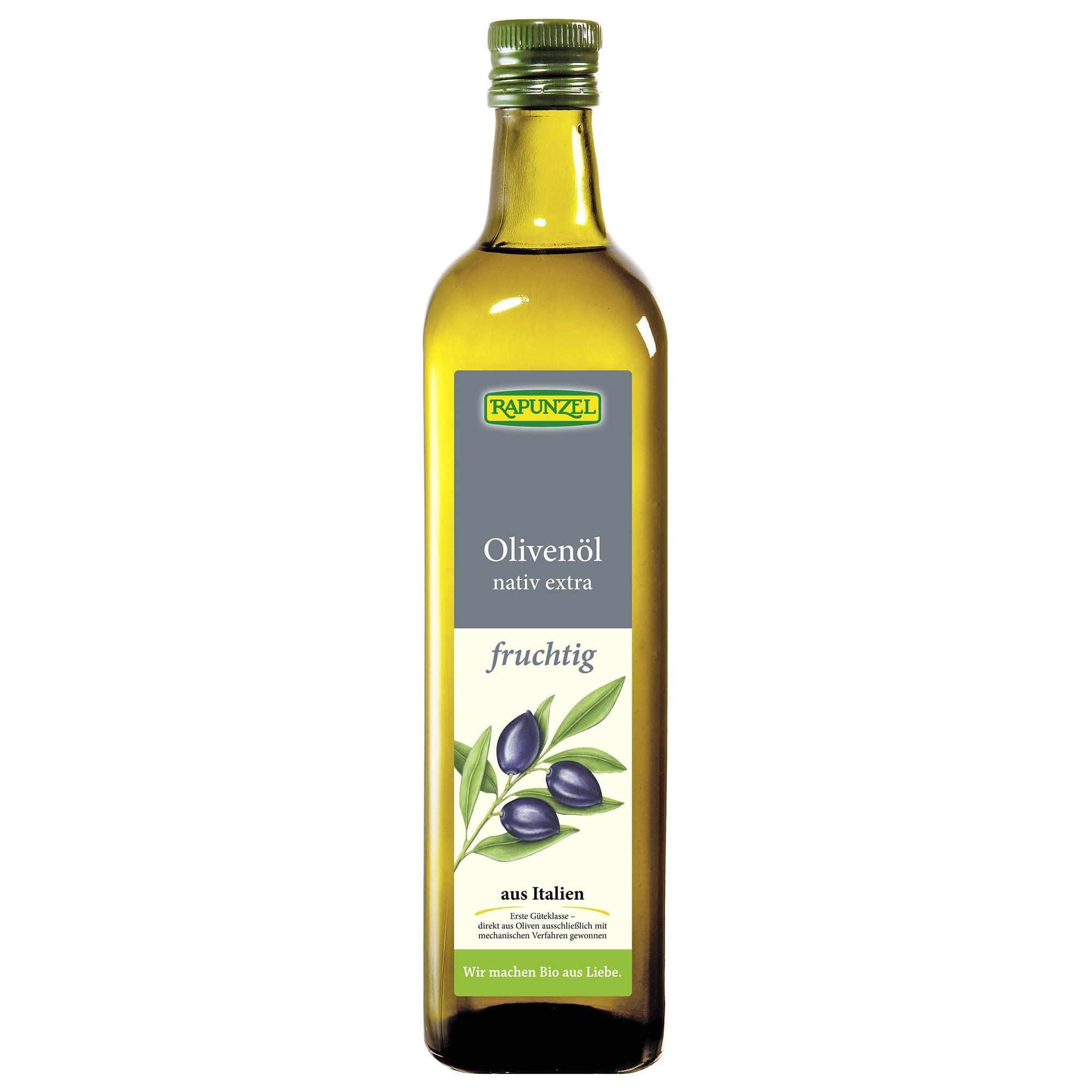 Rapunzel Bio Olivenöl fruchtig nativ extra 0,75l