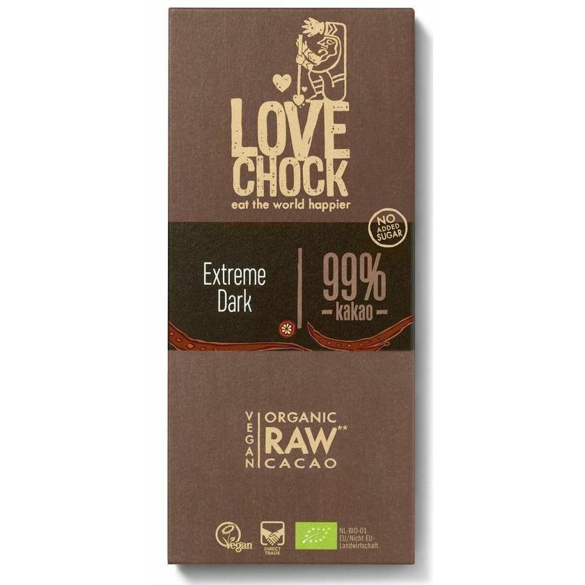 Lovechock Bio Lovechock Tafel Extreme Dark 99%, 70 g