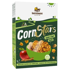 Barnhouse Bio Cornflakes Cornstars Apfel-Zimt 300g