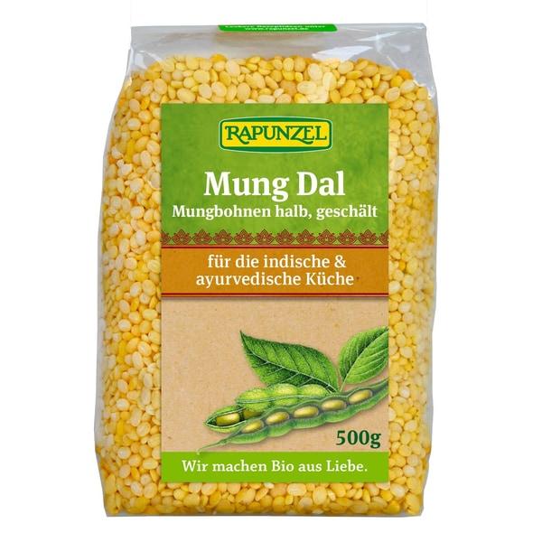 Rapunzel Bio Mung Dal Mungbohnen halbgeschält 500g