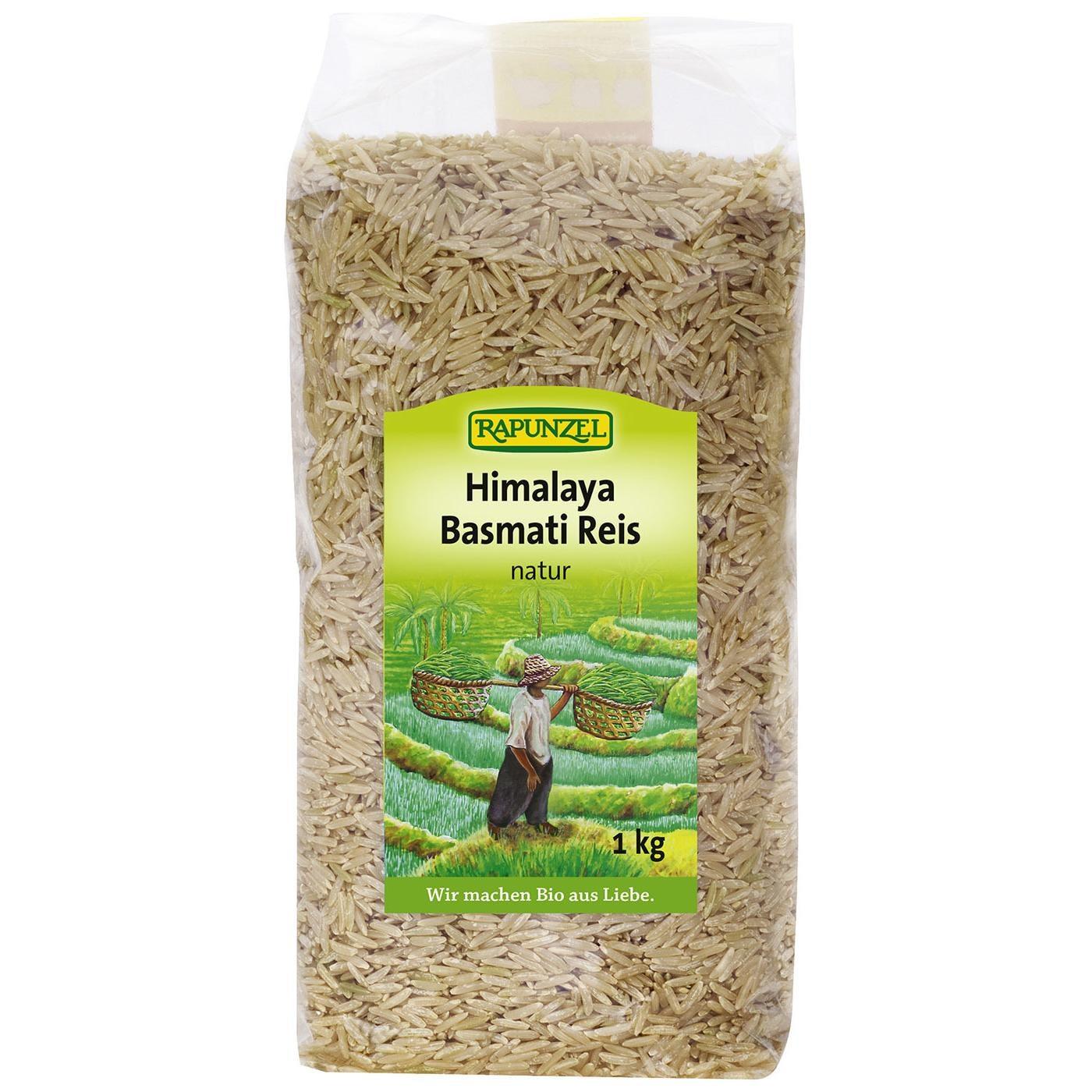 Rapunzel Bio Himalaya Basmati Reis natur 1kg