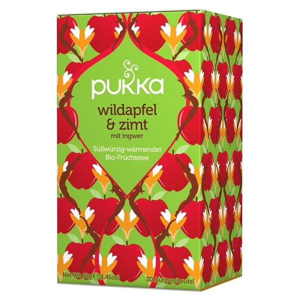 Pukka Herbs Bio Wildapfel & Zimt Teemischung 40g