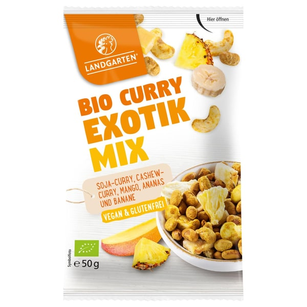 Landgarten Bio Curry-Exotik Mix 50g