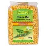 Rapunzel Bio Chana Dal Kichererbsen halb, geschält 500g