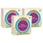 Hari Tea 3x Bio Rose & Hibiskus Teemischung 60g