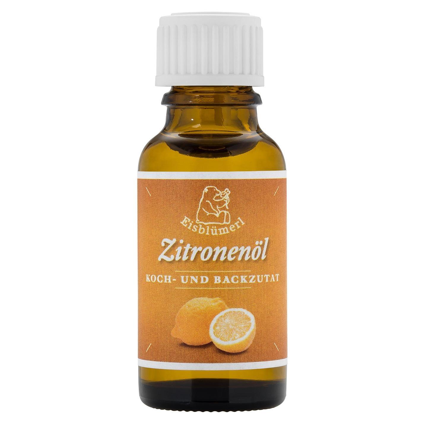 Eisblümerl Bio Zitronenöl 20ml