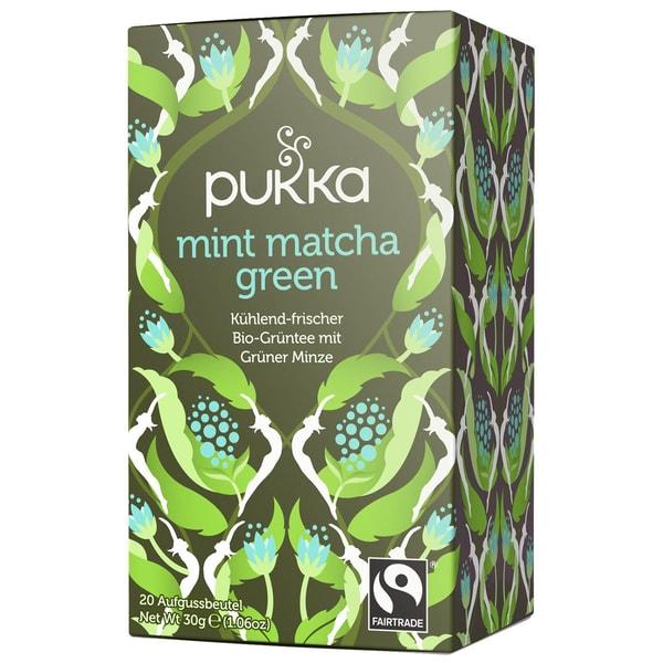 Pukka Herbs Bio Mint Matcha Green 30g